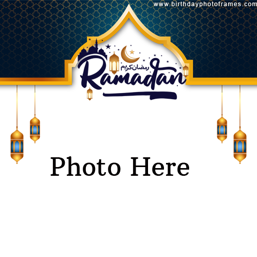Best wishes for Ramadan with Photo on Greetings