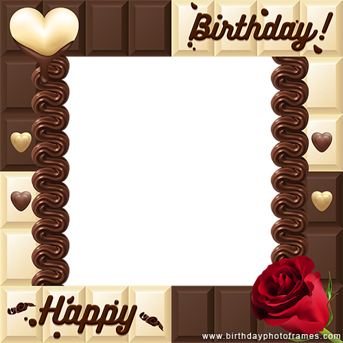 Birthday greeting cards maker with photo