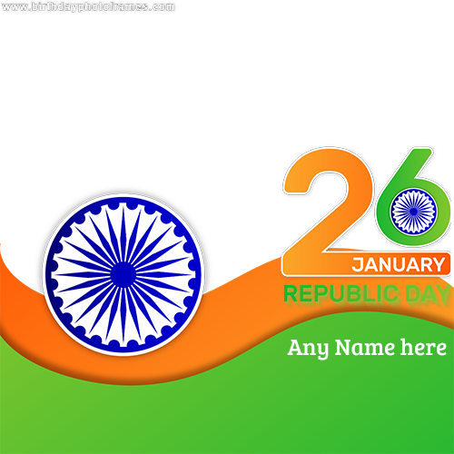 Happy Republic Day 2020 Wishes with Name and Photo