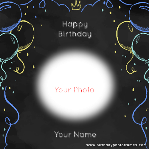 Personalized Photo Birthday Cards