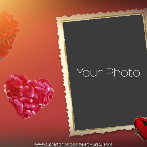 True Love Frame with Name and Photo