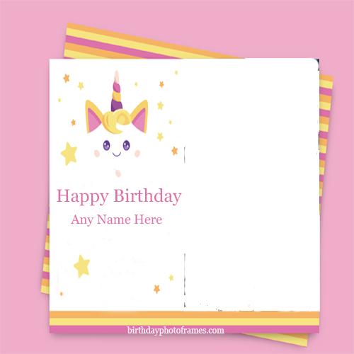 Admirable Happy Birthday Card With Name And Photo Edit Birthdayphotoframes Com Funny Birthday Cards Online Elaedamsfinfo
