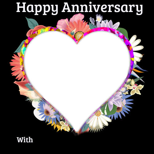 anniversary cards with name and photo upload free