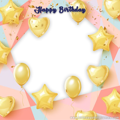 birthday card photo editor online free