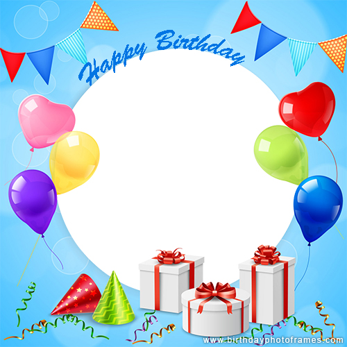 birthday card with photo upload free