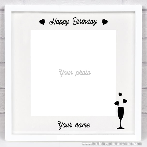 first birthday invitation card maker with photo