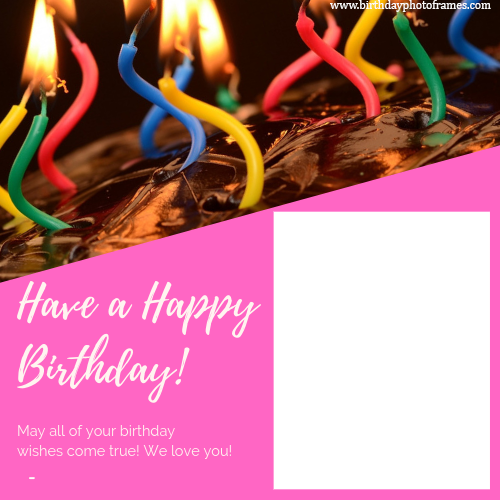 Excellent Happy Birthday Card With Name And Photo Editor Funny Birthday Cards Online Inifofree Goldxyz