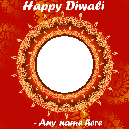 happy diwali 2020 wishes greeting cards with name and photo