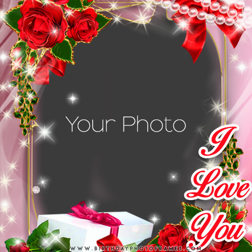 i love wishes with photo frame wish in a memorable way
