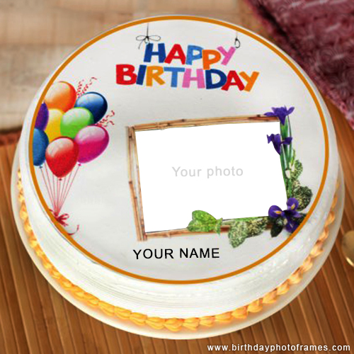 Beautiful Kids Happy Birthday Cake Wishes With Name And Photo