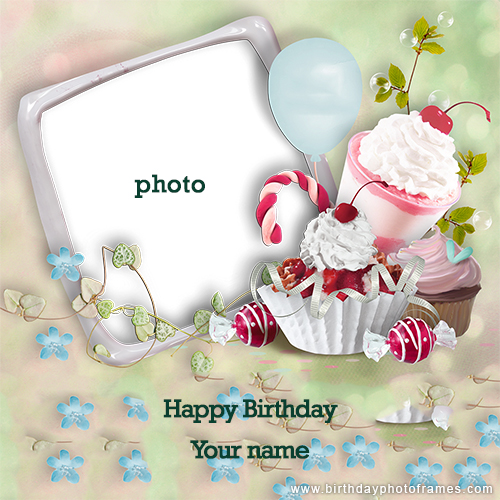 Awe Inspiring Happy Birthday Cards With Name And Photo Funny Birthday Cards Online Elaedamsfinfo